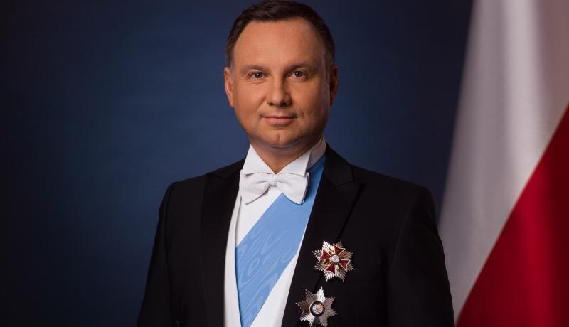 Prezydent Andrzej Duda / fot. Jakub Szymczuk/KPRP