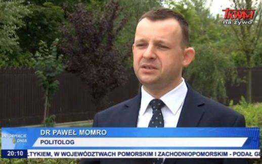 Dr Paweł Momro w komentarzu dla TV Trwam